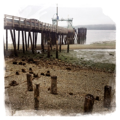 The southern ferry landing.
