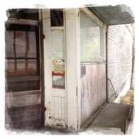 The old Portage store at Tramp Harbor.