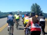 Approaching the bridge between Longview, Wash., and Rainier, Ore.
