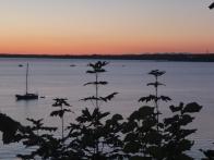 Bellingham Bay, after dinner
