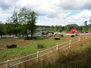 A farm off of SE Jones Rd.