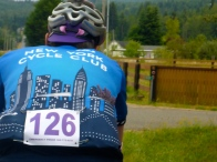Probably the only time an NYCC jersey has been ridden with lavender in the back pocket