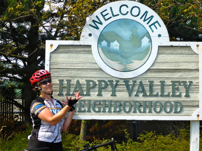 Happy Valley, Washington, not to be confused with the Happy Valley where Paula grew up in Pennsylvania