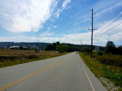 Long and unwinding road.