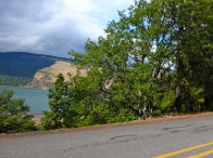 Heading out of Mosier.